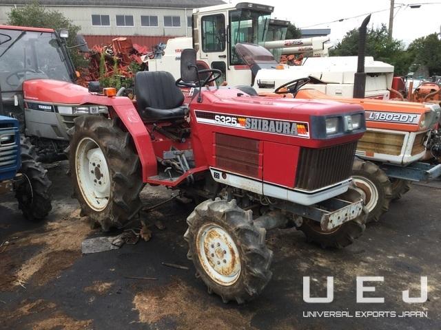 TRACTOR SHIBAURA S325 ( Tractors Shibaura ) || UEJ Co  Ltd
