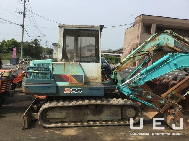 EXCAVATOR YANMAR B50 ( Excavators/Bulldozers Yanmar )    UEJ Co  Ltd