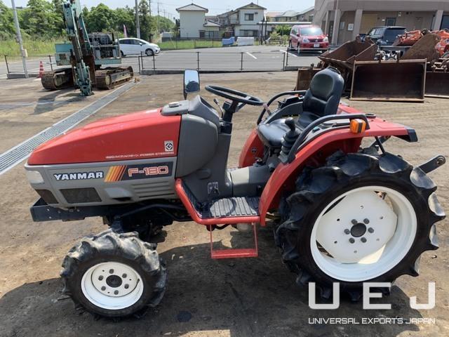 TRACTOR YANMAR F180 ( Tractors Yanmar ) || UEJ Co  Ltd